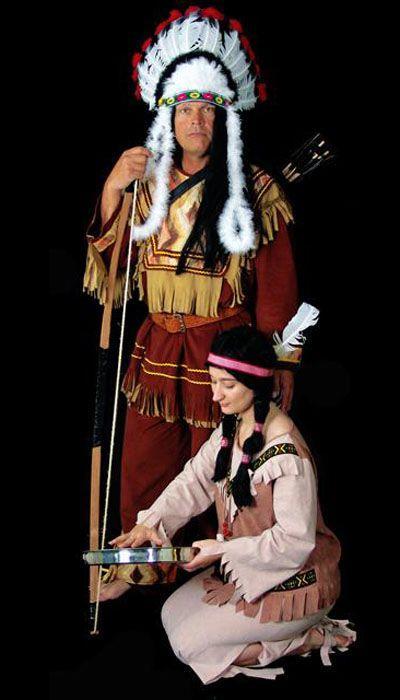 Indianen Opperhoofd kostuum