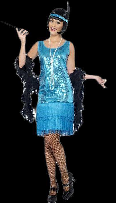 Charleston twenties jurkje huren  - 344