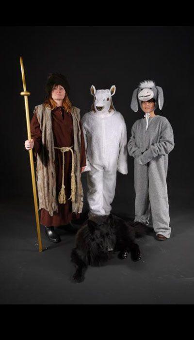 Kerststal kostuums