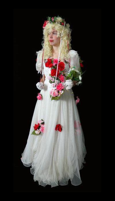 Lente bruidsjurk huren - 364