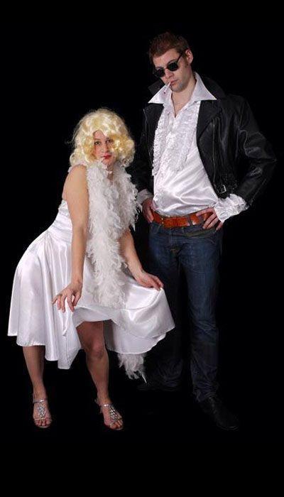 Marilyn Monroe jurk en James Dean kostuum - 370