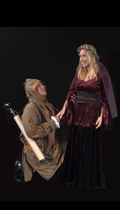 Robin Hood kostuum en Lady Marian kostuum huren - 373