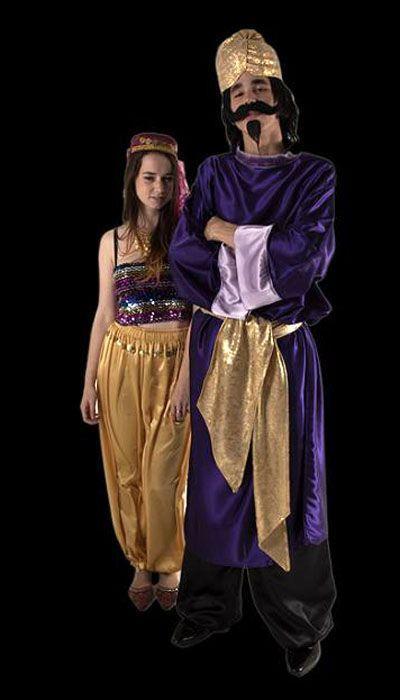 Oosters setje 'Purple'