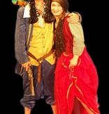 Piraat en piratenliefje kostuum - 407