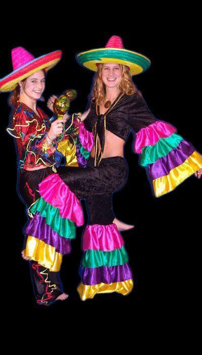 Zomer Carnaval kostuum huren