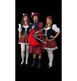 Schots kostuum voor dame of heer
