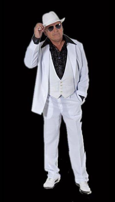 Wit disco kostuum huren