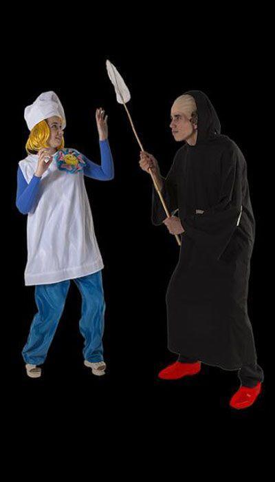 Smurfin & Gargamel
