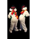 Sneeuwman kostuum huren