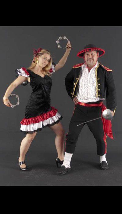 Spaanse kostuums huren