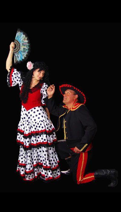 Spaanse kostuums huren - 437