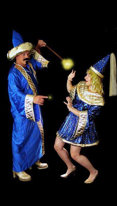Blauwe Tovenaars kostuum