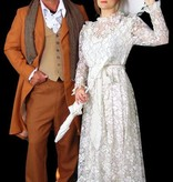 Heer en Dames kostuum uit 1900