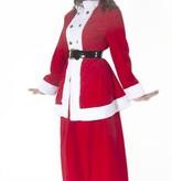 Klassiek kerstvrouw kostuum huren - 455