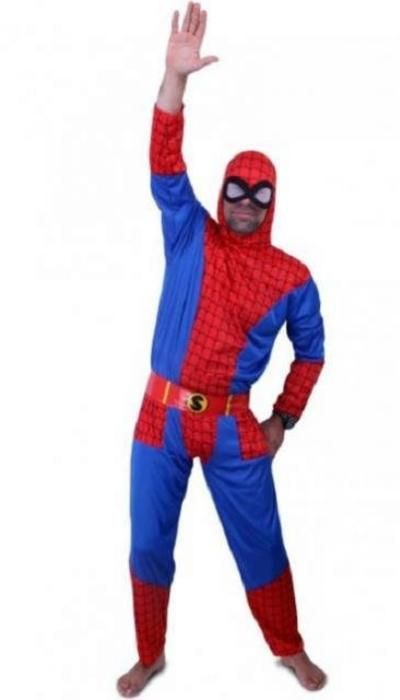Spiderman kostuum huren