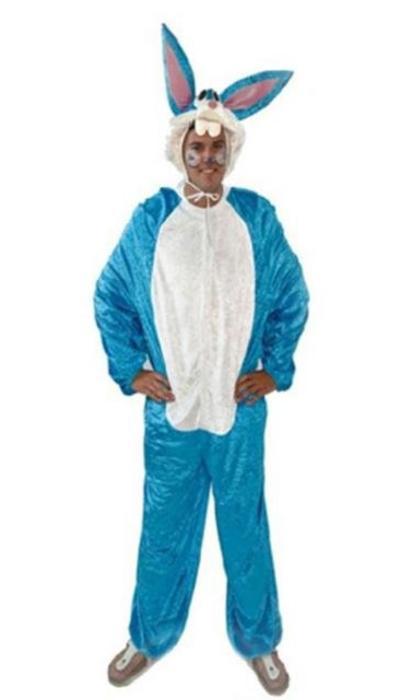Blauw konijn