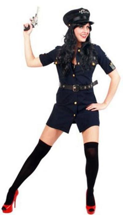 Politiejurkje - op