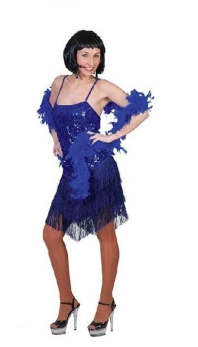 koop Glitterjurkje blauw huren