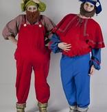 Lui en Klus kabouterkostuum uit de serie Kabouter Plop