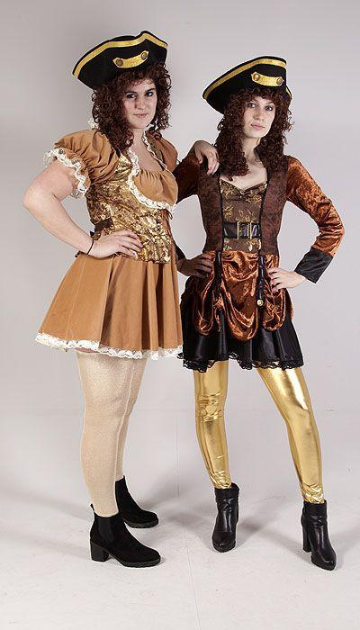 Jack Sparrow kostuum en Pirate girls