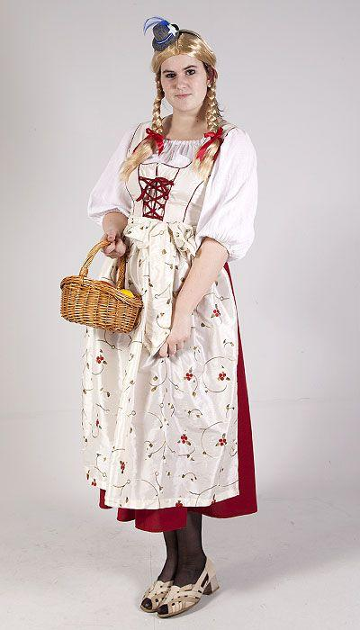 Boer en boerin Tirol kostuum huren