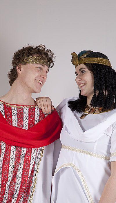 Caesar en Cleopatra kostuum huren