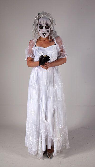 Horror bruidsjurk huren