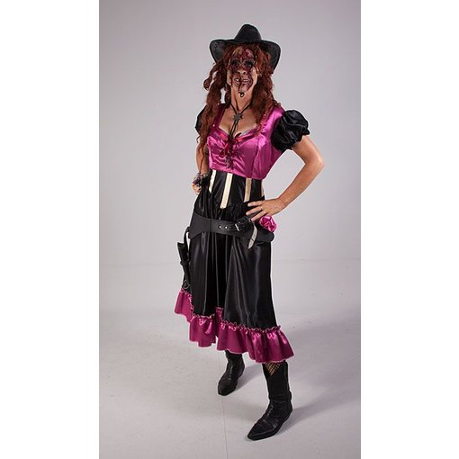 Horror cowgirl kostuum