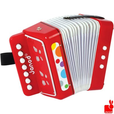 Janod confetti-accordeon