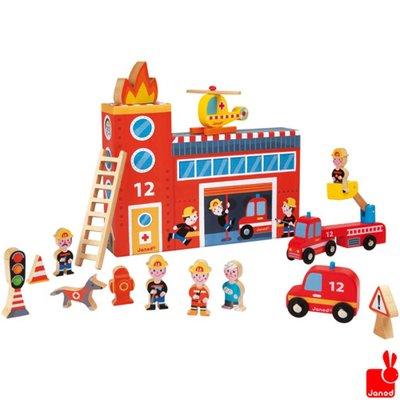 Janod story-box-de-brandweer