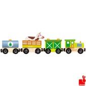 Janod trein boerderij magnetisch