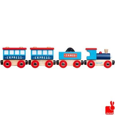 Janod express-trein-magnetisch