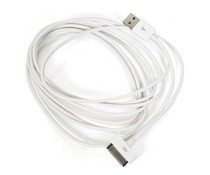 3 meter kabel voor iPhone 4(S)
