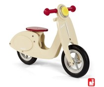 Janod Scooter Vanilla zithoogte 32-36cm