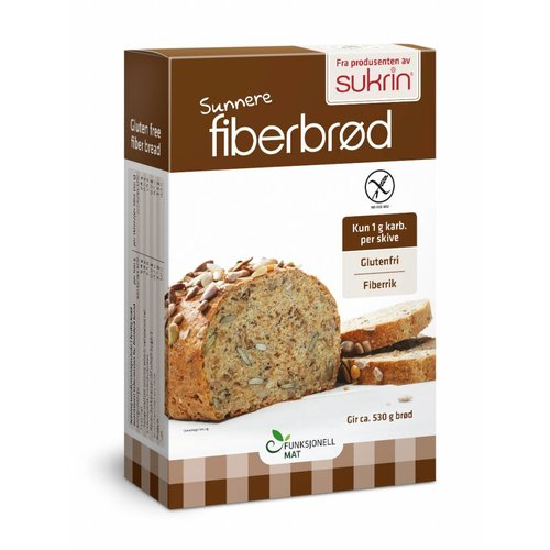 Sukrin - Broodmix Fiberbrød (250 gr)