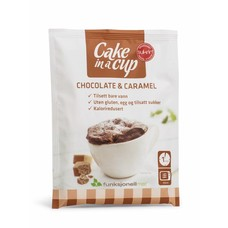 Sukrin - Cake in a Cup - Chocolate & Caramel (65 gr)