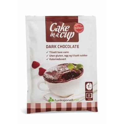 Sukrin - Cake in a Cup - Dark Chocolate (65 gr)