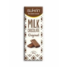 Sukrin - Suikervrije melkchocolade (40 gr)