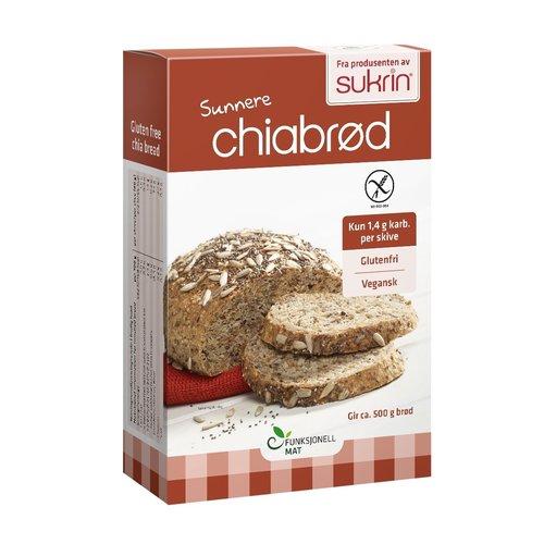Sukrin - Broodmix Chiabread (250 gr)