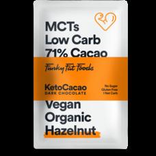 Keto Cacao - Dark Chocolate Hazelnut (50 gr)