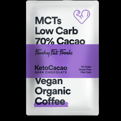 Keto Cacao - Dark Chocolate Coffee (50 gr)