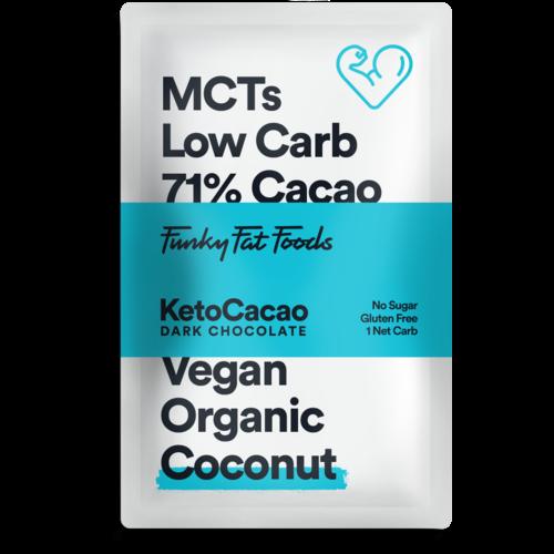 Keto Cacao - Dark Chocolate Coconut (50 gr)