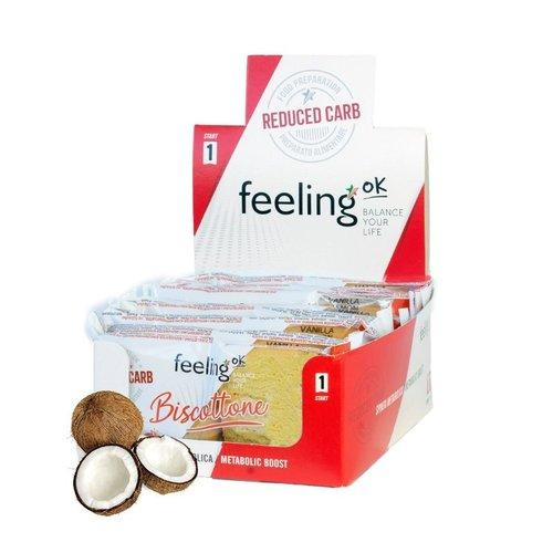 FeelingOK - Biscottone kokoskoeken (2 stuks)