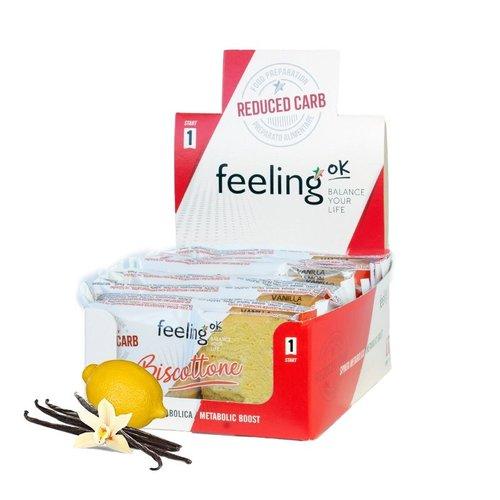 FeelingOK - Biscottone vanille citroen koeken (2 stuks)