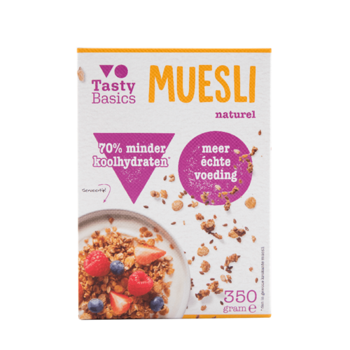 TastyBasics - Muesli naturel (350 gr)