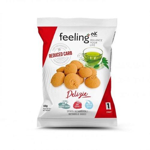 FeelingOK - Delizia abrikozen koekjes (50 gr)
