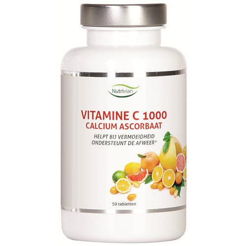 Nutrivian - Vitamine C Calcium Ascorbaat (50 tabs)