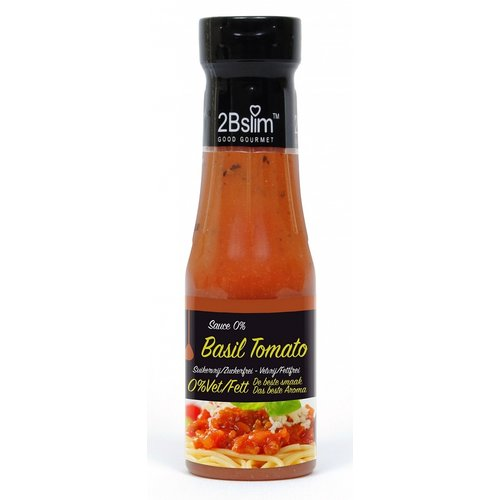 2Bslim - Tomaat basilicum pastasaus (250 ml)