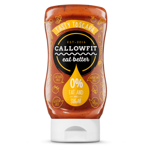 Callowfit - Tasty Toscana Saus (300 ml)