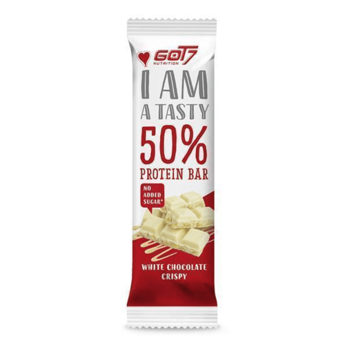 Got7 - White Chocolate Crispy Eiwitreep (60 gr)